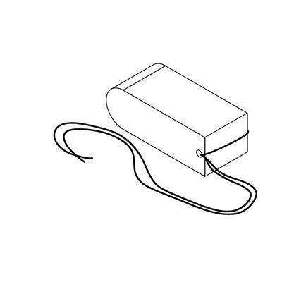 AbsorbENT Post-Op Sinus pack w / string 8 x 1.5 x 3 cm Bx / 10